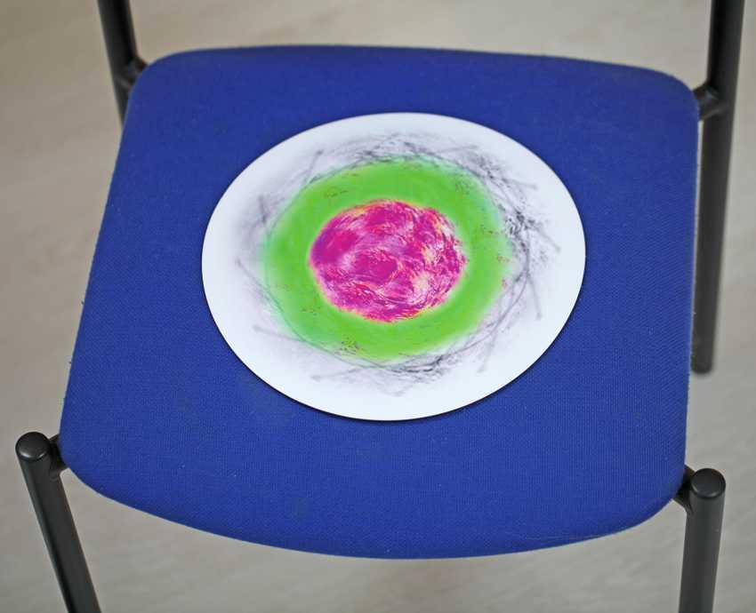 Auch als Sitzunterlage bestens geeignet, was dem Gemüse gut tut, hilft auch dem Menschen.